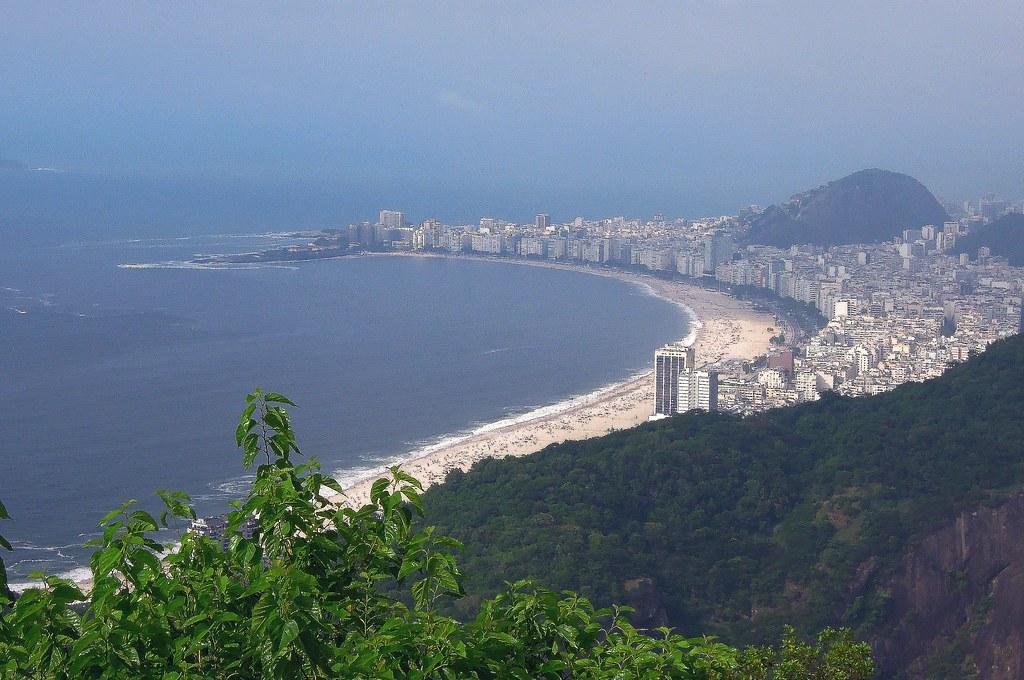 1024 x 680 jpeg 372kB, Brazil (Rio de Janeiro) Copacabana Beach view ...