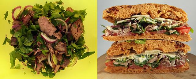 Steak Sandwich maken