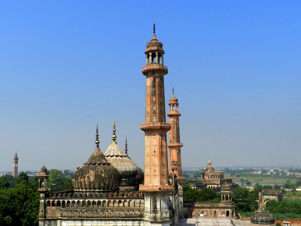 asafi mosque, lucknow, architecture, bara imambara