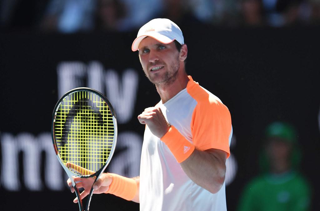 Mischa Zverev在澳網賽場打出生涯代表作。(達志影像)