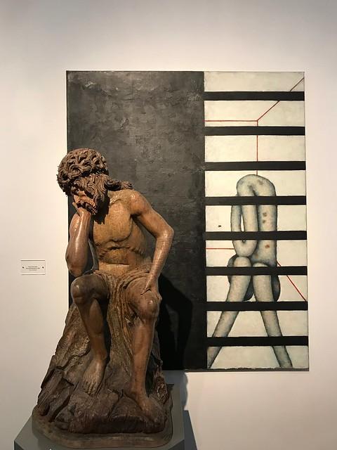 Museum des Stiftes Admont: der leidende Heiland aus den Sammlungen