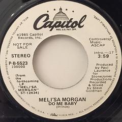 MELI'SA MORGAN:DO ME BABY(LABEL SIDE-B)