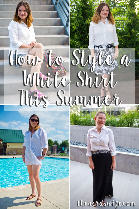 How to Style a White Shirt This Summer