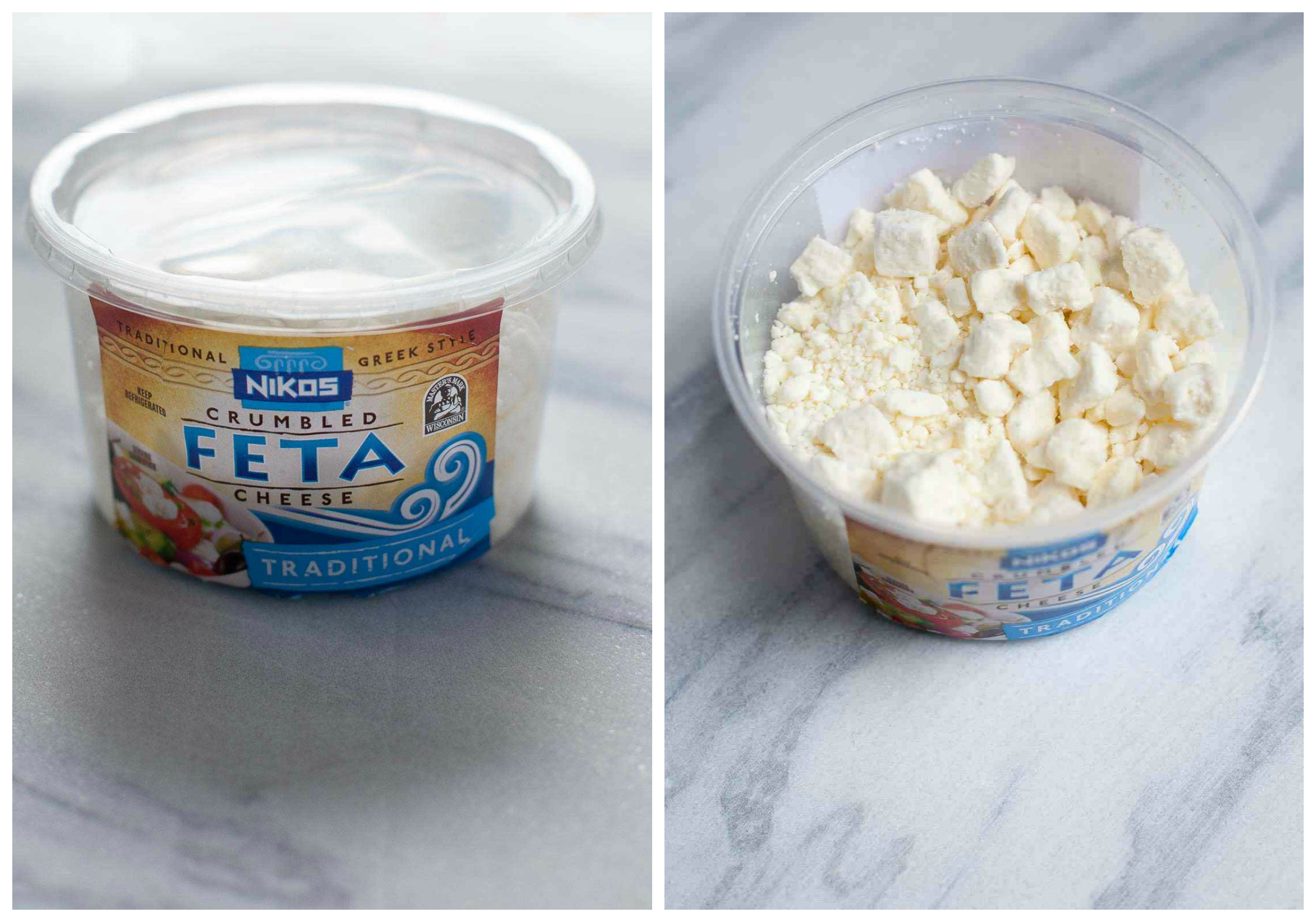 Creamy Whipped Feta made with Nikos | Get more feta recipes & enter to win a trip to Hawaii here: https://ooh.li/1cd7e02 #sp