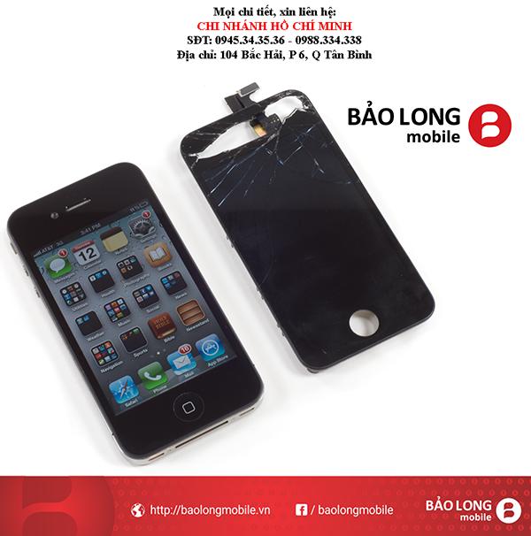 Khách hàng phải biết gì khi thay mới mặt kính iPhone 4 giá rẻ ở Sài Gòn
