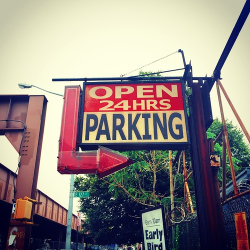 Parking lot got me open 24 hours sign harlem nyc st for 24 hour beauty salon nyc