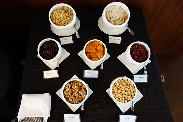 Granola & Muesli station at Sky on 57, Marina Bay Sands