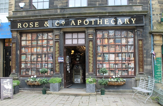 Rose and Co. Apothecary Haworth