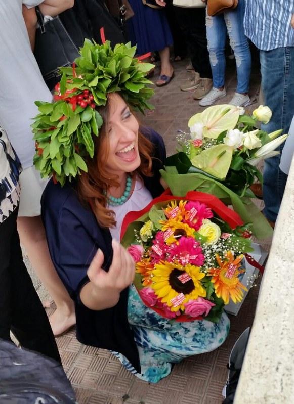 Presidente Pro Loco- Auguri Dottoressa- Virginia Polignano (1)