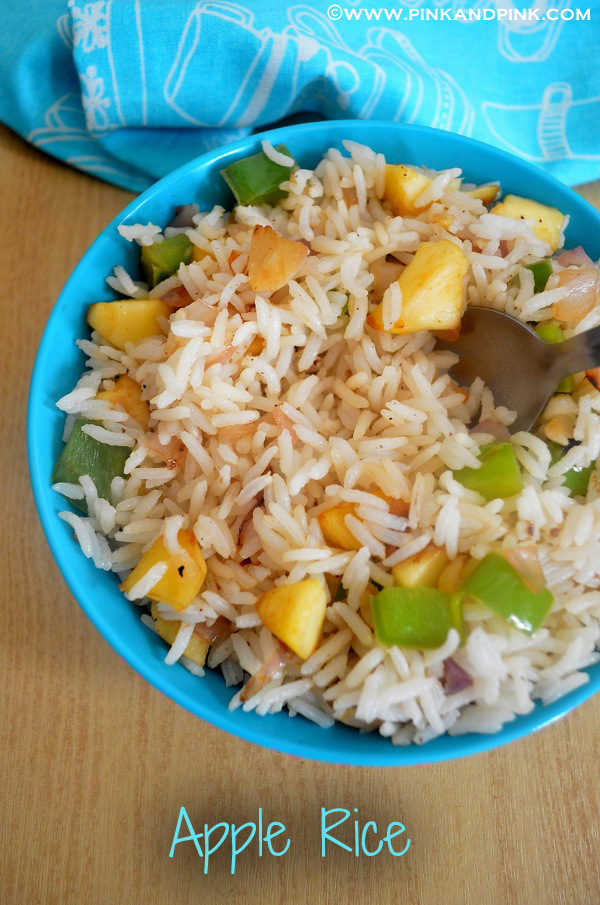 Apple Rice Recipe