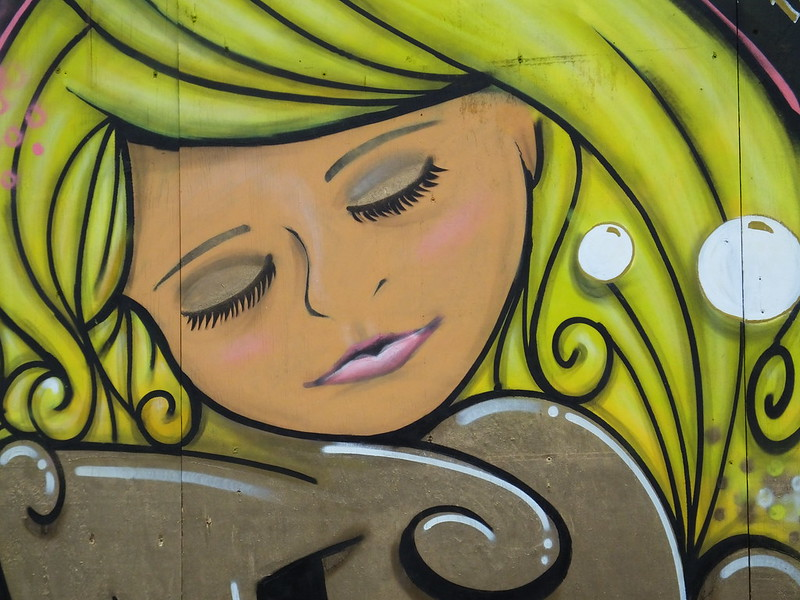 Street art near Central Square, Cardiff