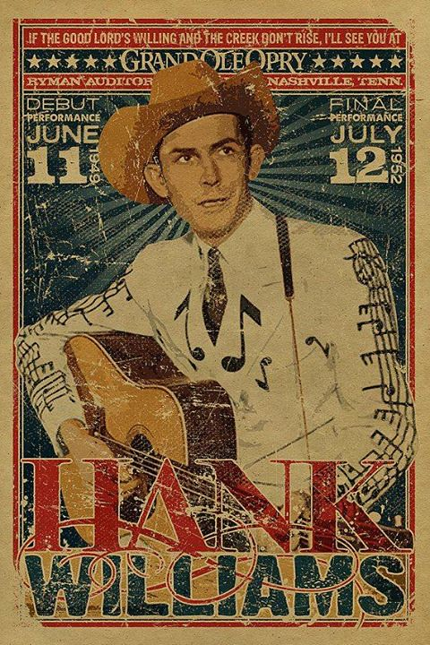 Hank Williams poster | by Sholing Uteman