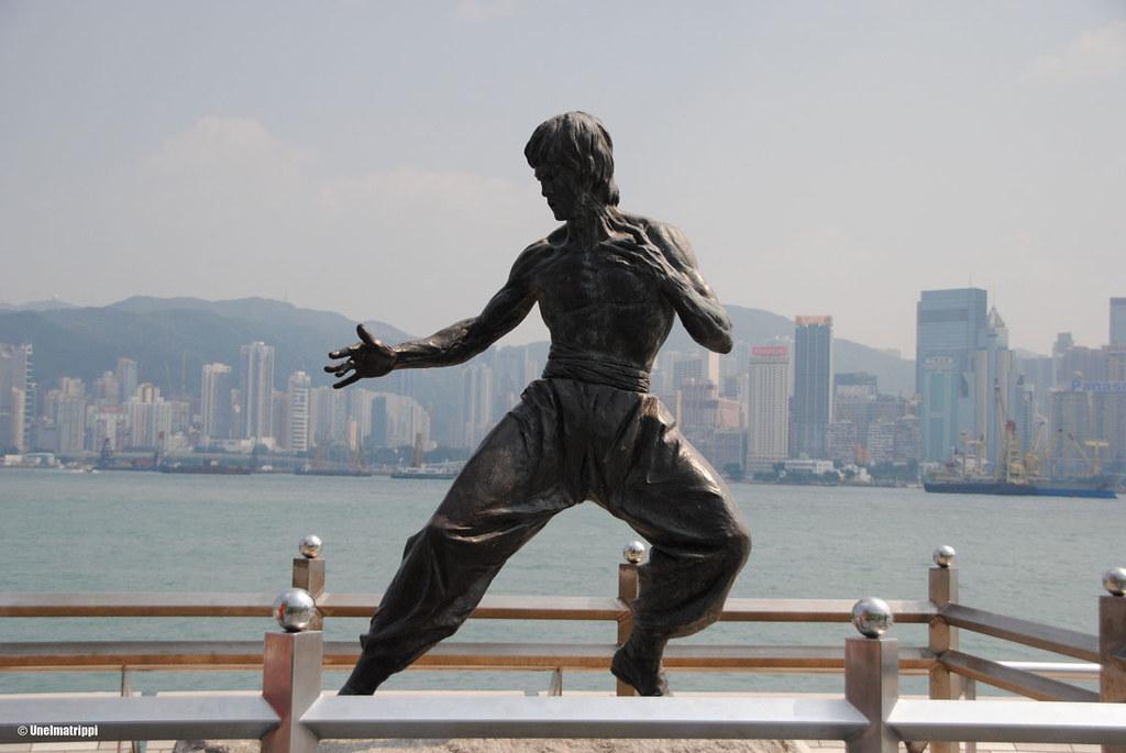 Bruce Leen patsas Avenue of Starsilla Hongkongissa