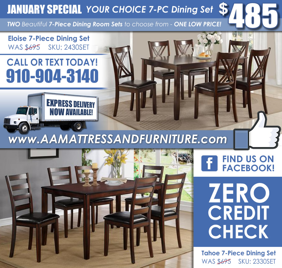 January Crown Mark 7PC Special