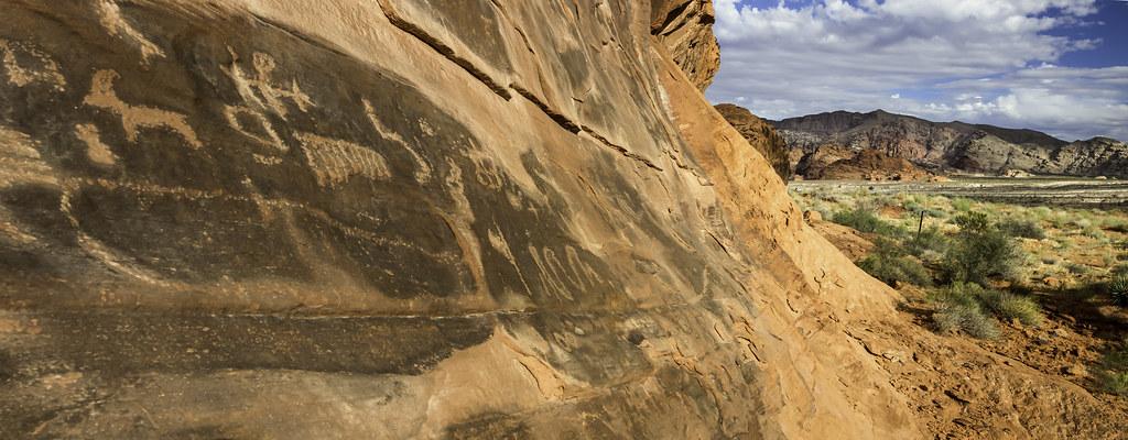 美國內華達州拉斯維加斯郊區金孤丘(Gold Butte)。Bureau of Land Management(CC BY 2.0)