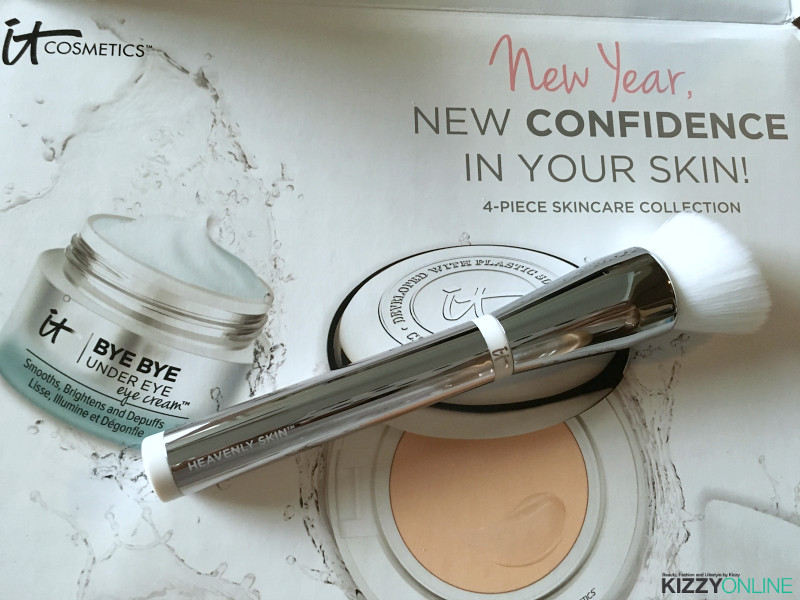 IT Cosmetics New Year New Confidence in Your Skin Skincare Collection QVC TSV