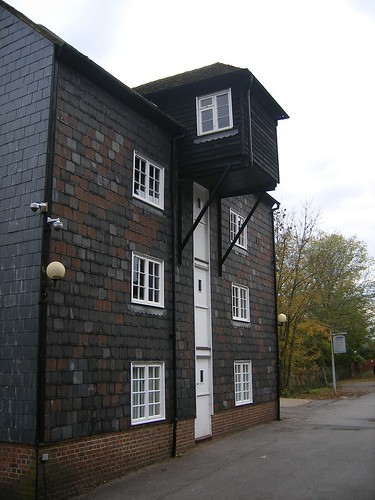Uckfield water mill side view