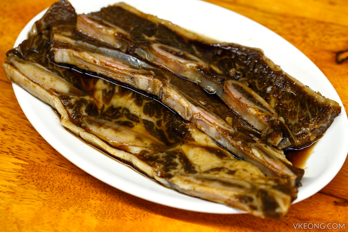 Sae Ma Eul Marinated Beef Ribs in Special Soy Sauce