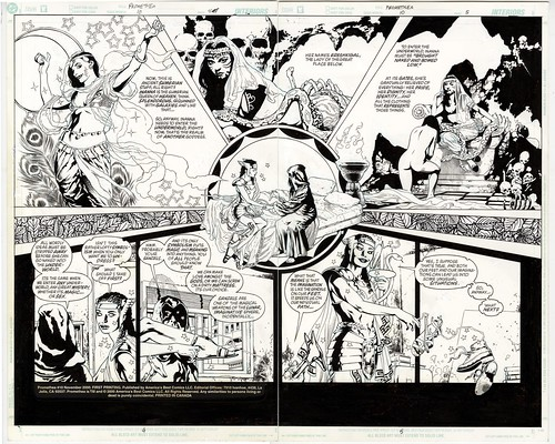 ABC IDW Artist Edition Promethea 10 pg 4 and 5 | by JH Williams III