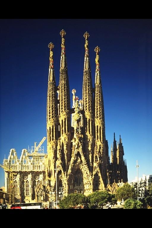 Sagrada Familia. From An Unusual Way to Explore Barcelona