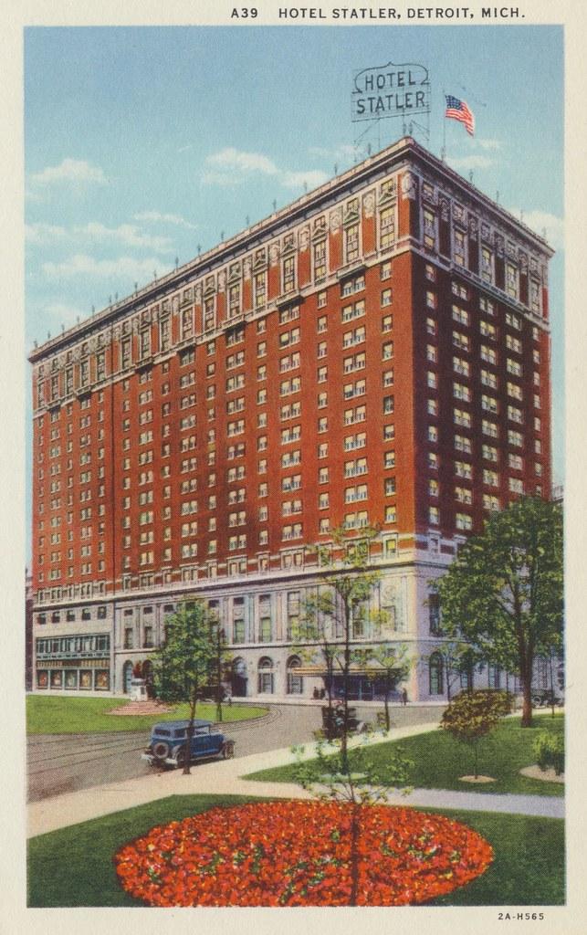 Hotel Statler - Detroit, Michigan