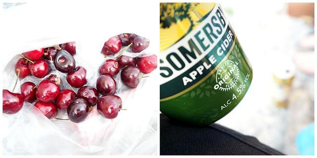 kesähkieväätpic1, kesä, summer, kaivari, karhupuisto, helsinki, herkut, kirsikat, kirsikka, cherry, cider, siideri, somersby, herkut ,treats,