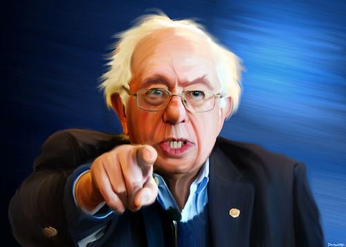 Bernie Sanders - Painting