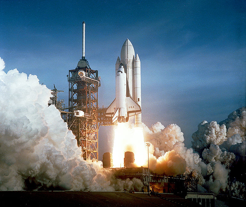 #80sInnovations Space Shuttle Columbia STS-1 April 12, 1981