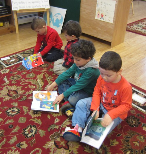 reading our new books