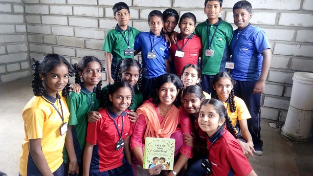 Storytelling session by Oracle at Citizens School