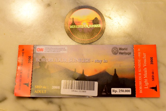 Ticket for Borobudur Sunrise Tour