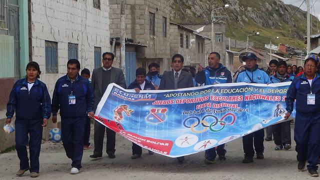 Olimpiada Deportiva Escolar 2015 - Fase Distrital