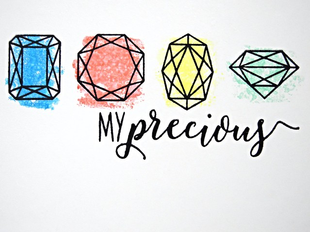 My Precious by Jennifer Ingle #justjingle #myprecious #winnieandwalter #cards