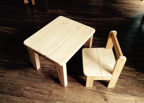 子供テーブルの製作