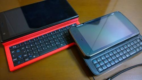 Jolla with TOHKBD & NOKIA N900