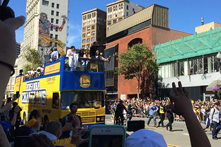 Golden State Warriors - Victory Parade Curry