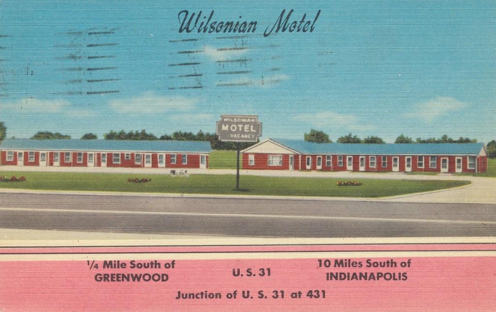 Wilsonian Motel - Greenwood, Indiana