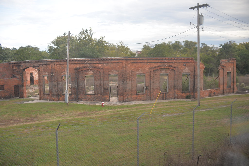 Martinsburg Roundhouse Ruins WV 10-9-14 1