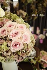 テーマ 「花と花器と水のハーモニー」