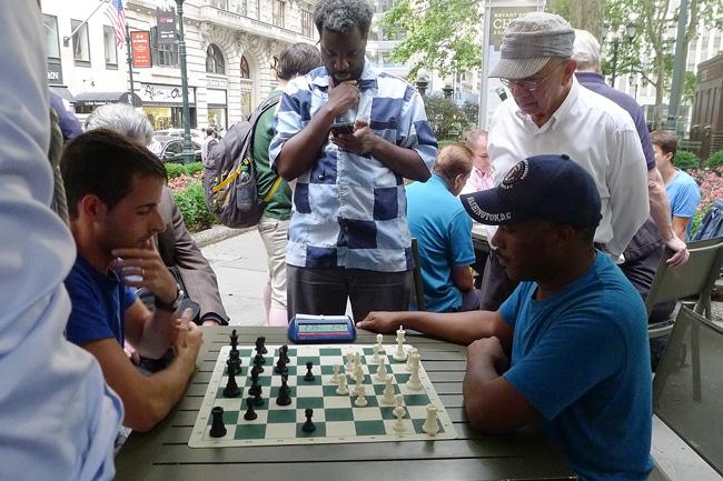 Chess, Bryant Park