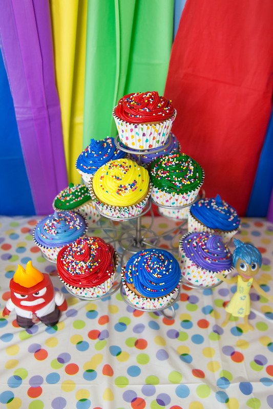 Inside Out Cupcakes