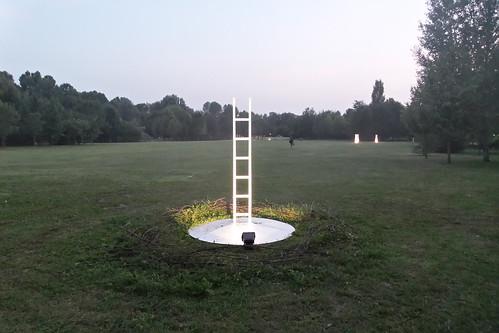 Una scala e la poesia che riscrive #Ecoismi2015