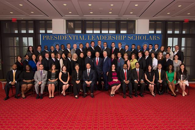 Presidential Leadership Scholars Graduation 2015