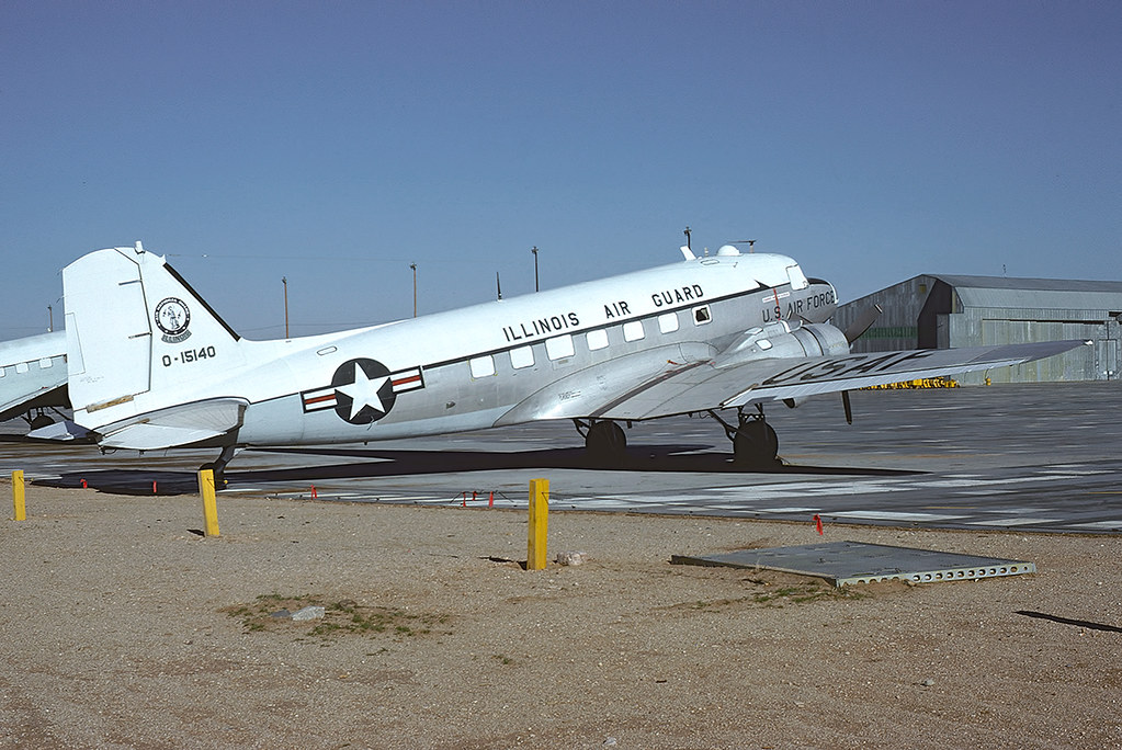 C 47a Skytrain 43 15140 Of The 108th Ars Il Ang This