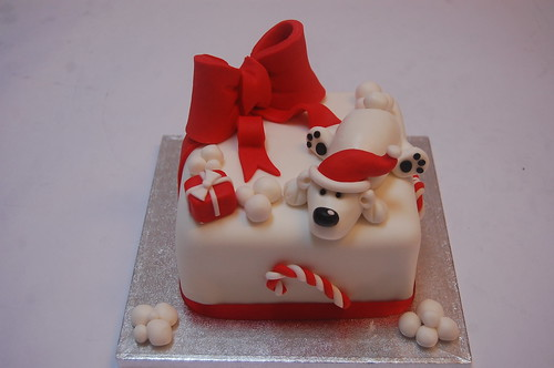 Another new design for this year and one we're sure is bound to be popular! Please enquire about Christmas Cake prices.