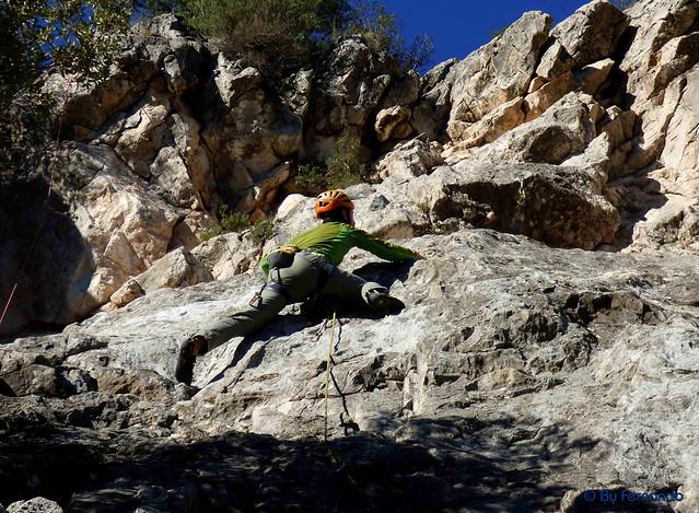 JuanMa Parra - El Matat, IV -01- Subirats, Sector Triangle (11-12-2016)
