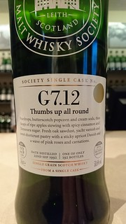 SMWS G7.12 - Thumbs up all round