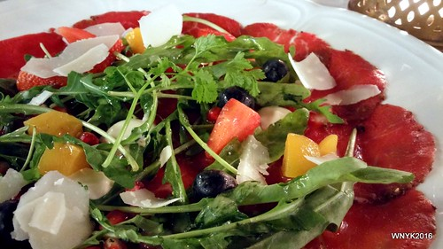 Fruity Beef Carpaccio