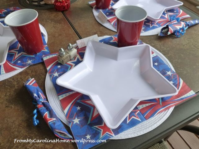 Patriotic Ladies Luncheon on From My Carolina Home