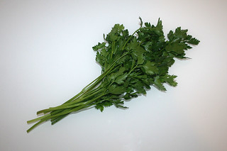 12 - Zutat Petersilie / Ingredient parsley
